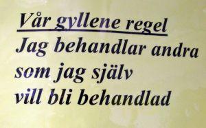 12. Gyllene regel