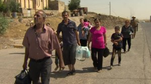 christians-flee-Mousul-iraq
