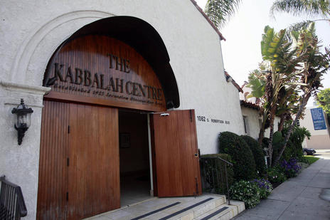An exterior view of the Kabbalah Centre is shown in Los Angeles, Friday, May 6, 2011.